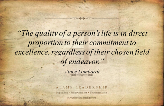 The Quality of a Person's Life...
