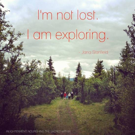I Am Not Lost...